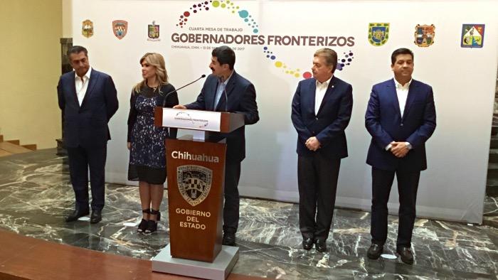 Gobernadores fronterizos solicitarán recursos para atender a repatriados