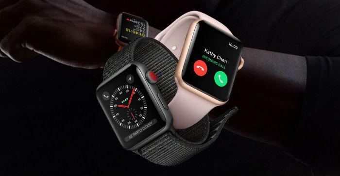 La autonomía del Apple Watch 3 para hacer llamadas es muy limitada