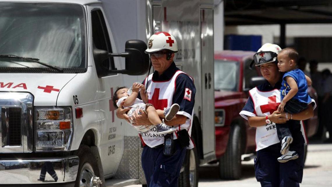 Cruz Roja Mexicana ha beneficiado a 73 mil damnificados con víveres