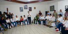 Relacionada post reunion con empresarios ayuda sismo