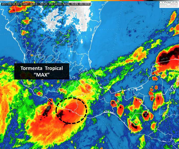 Max es ahora tormenta tropical tiempo - Temperatura terrassa ahora ...