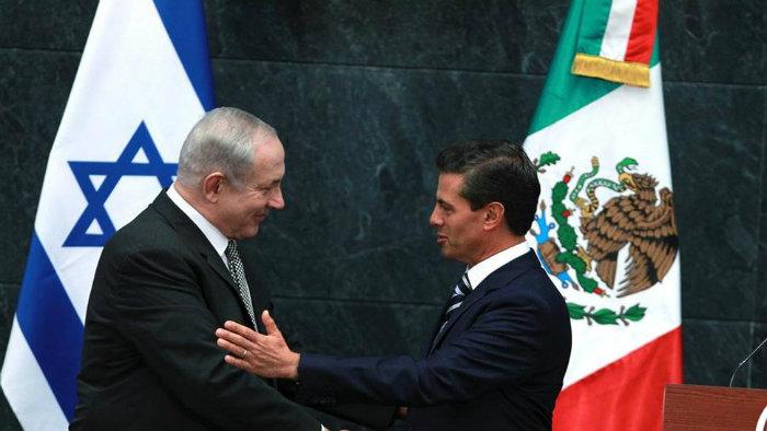 Netanyahu visita México por primera vez