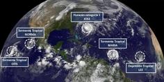 Relacionada huracanes ciclones tormentas
