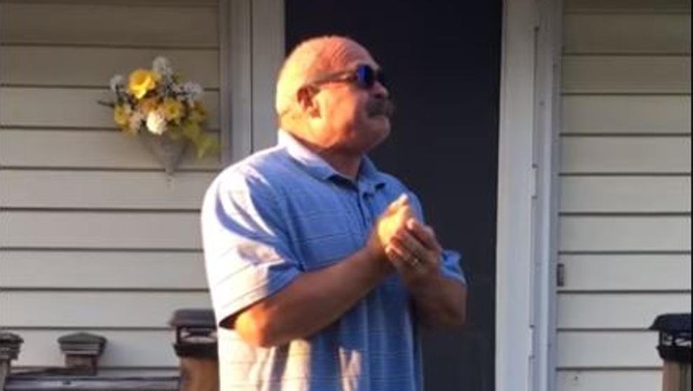 Un daltónico de 66 años vió por primera vez los colores
