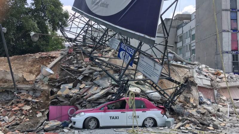 Temblores de 6.8 y 7.1 grados afectan a la Ciudad de México