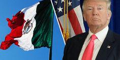 Relacionada trump bandera mexico