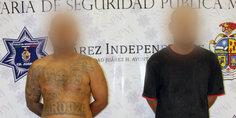 Relacionada cayeron dos aztecas por intento de homicidio en la colonia granjas 1