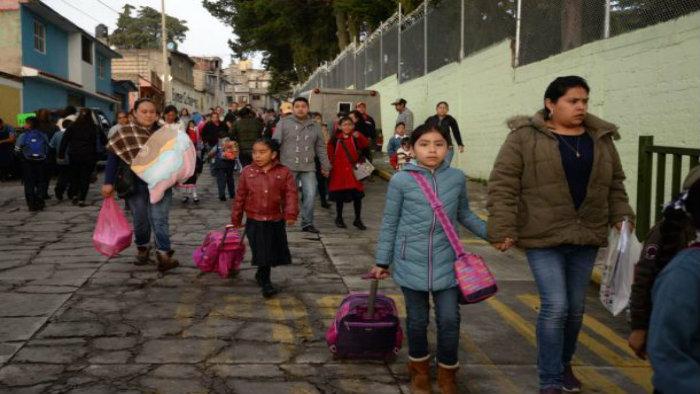 70% de las escuelas en Oaxaca regresan a clases