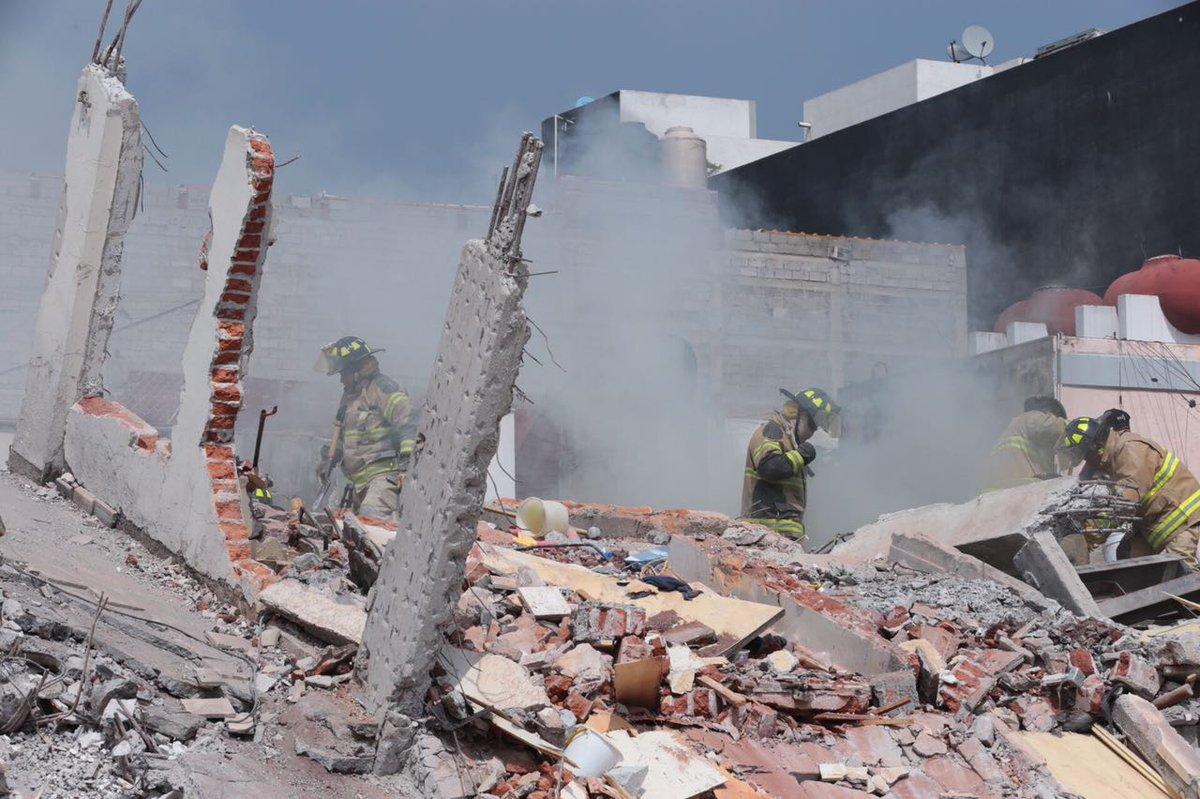 Envía EU equipo de expertos en desastres a México