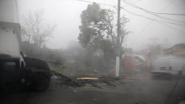 Suman 12 muertos en Puerto Rico por huracán 'María&#39