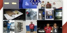 Relacionada polici as municipales en diferentes intervenciones detienen a siete presuntos narcomenudistas
