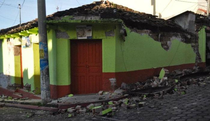 Se registra sismo de 5.8 en Chiapas
