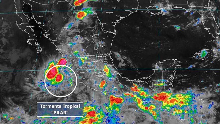 Se debilita la tormenta tropical Pilar