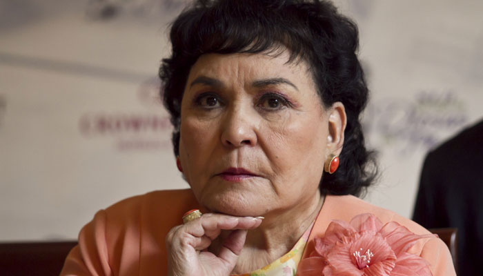 Carmen Salinas culpa al líder norcoreano por sismo en México