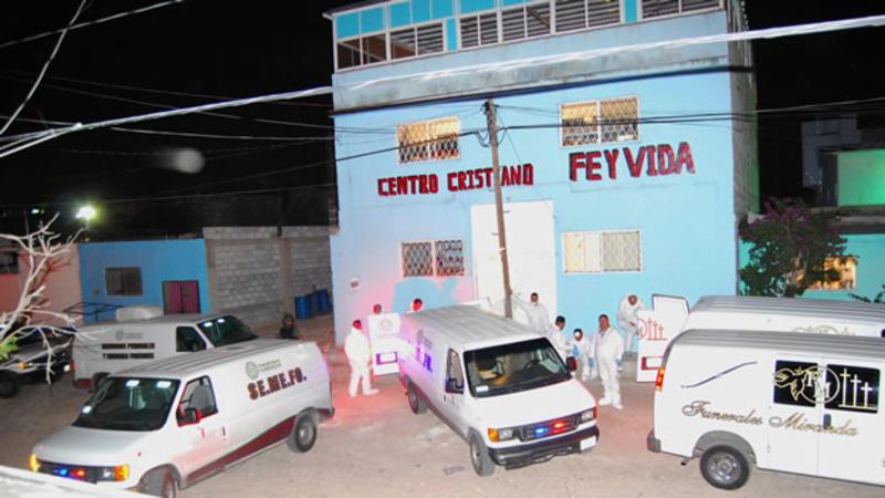 Sube a 18 personas asesinadas en centro de rehabilitación