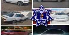 Relacionada polici as municipales recuperaron cinco vehi culos con reporte e indicios de robo