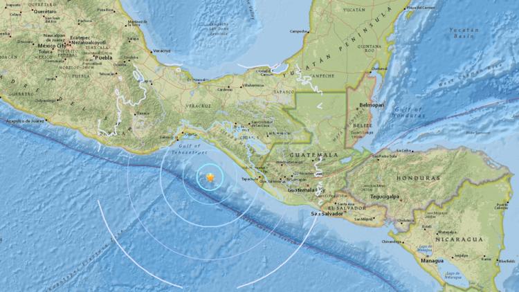 Un sismo de magnitud 5.6 registró cerca de las costas de México