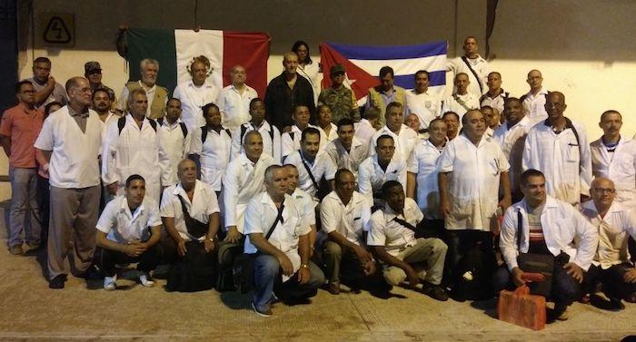 México agradece envío de médicos cubanos para asistir a damnificados del sismo