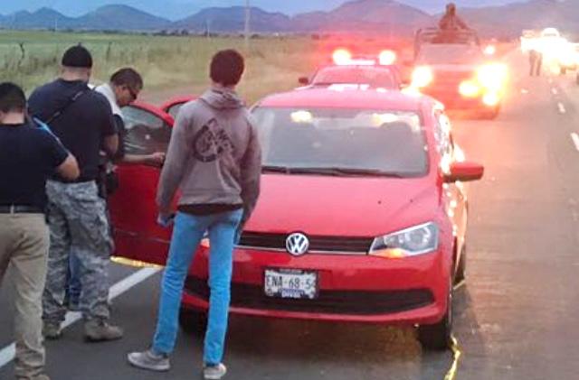 Matan a un policía federal ya su madre en Chihuahua