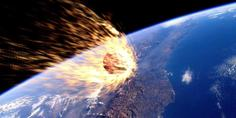Relacionada meteorito tierra