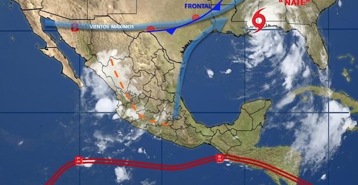 Alerta por lluvias y vientos fuertes para Salta