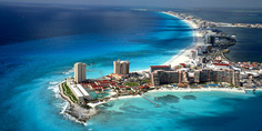 Relacionada coastal skyline of cancun quintana roo