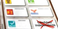 Relacionada boletas electorales independientes