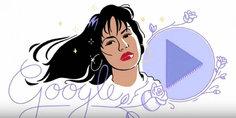 Relacionada google dedica doodle a la cantante selena