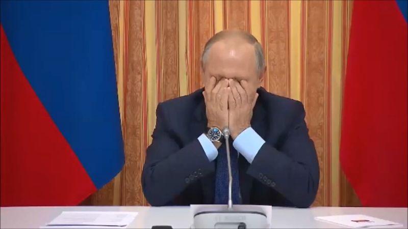 Putin se burla de ministro