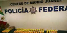 Relacionada detuvieron a agente estatal con 40 kilos de marihuana