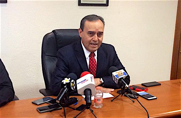 Garfio conferencia prensa