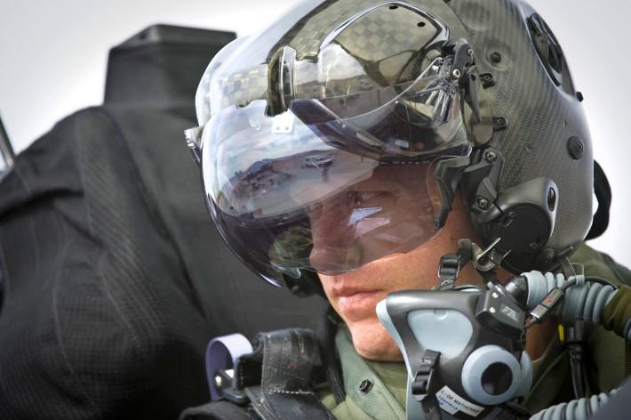 F 35 pilot