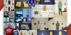 Relacionada polici as municipales en diferentes intervenciones detienen a 13 presuntos narcomenudistas