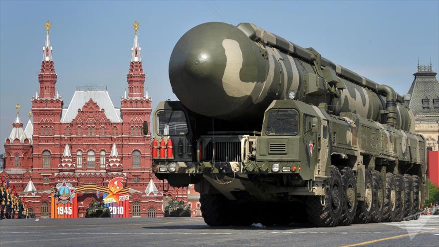 Rusia lanza misil intercontinental Topol