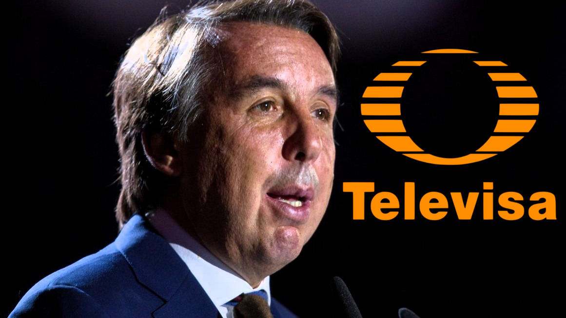 Emilio Azcárraga Jean deja dirección de Televisa