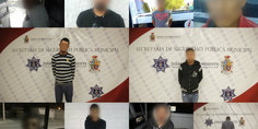 Relacionada polici as municipales en diferentes intervenciones detienen a diez presuntos narcomenudistas