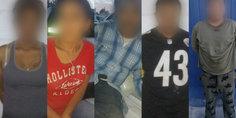 Relacionada en diferentes hechos agentes  municipales arrestaron a cinco presuntos narcomenudista