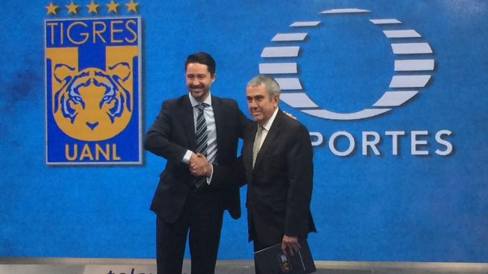 Tigres renueva con Televisa