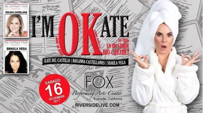 Kate del Castillo compartirá miedos y alegrías en obra de teatro