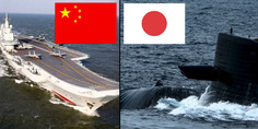 Relacionada china japon portaviones submarino
