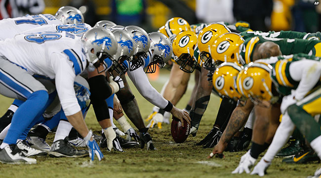 Arrasa Detroit a Green Bay en Monday Night