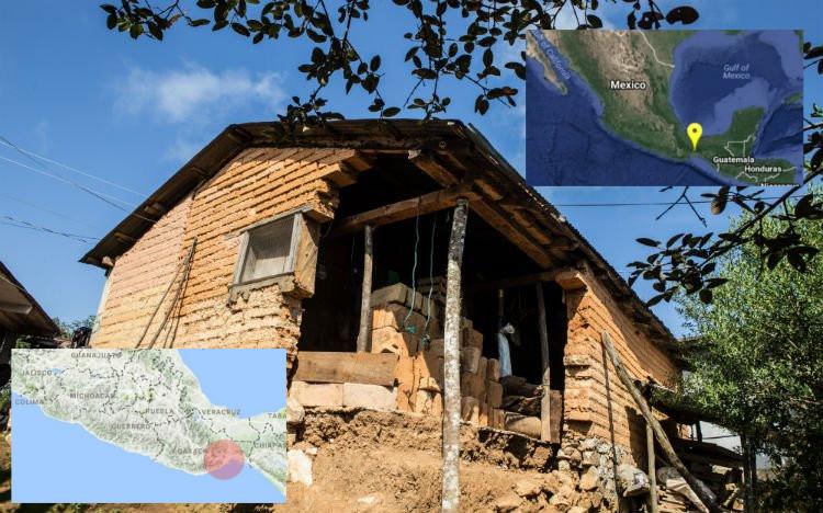 Se registran cuatro sismos en Oaxaca y Chiapas