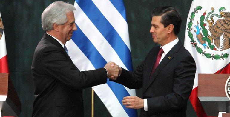 ¿Uruguay o Paraguay? El nuevo error de Peña Nieto