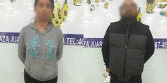 Relacionada polici as municipales detienen a un hombre y una mujer por el delito de robo a comercio