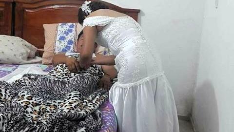 Enfermera interrumpe su boda para atender a un paciente