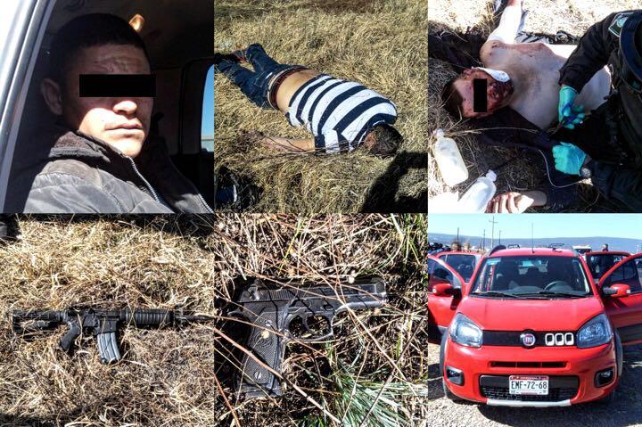 Enfrentamiento en Madera; abatieron a uno y arrestaron a dos