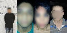Relacionada agentes municipales en diferentes intervenciones detienen a cuatro presuntos narcomenudistas