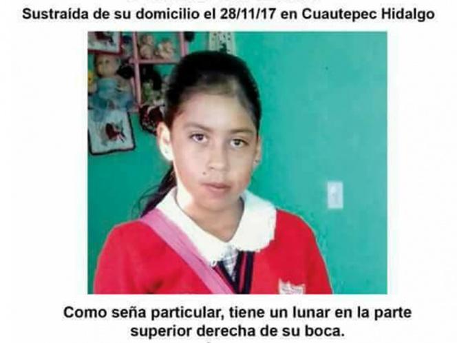 Comando armado se roba a niña de 9 años en Hidalgo