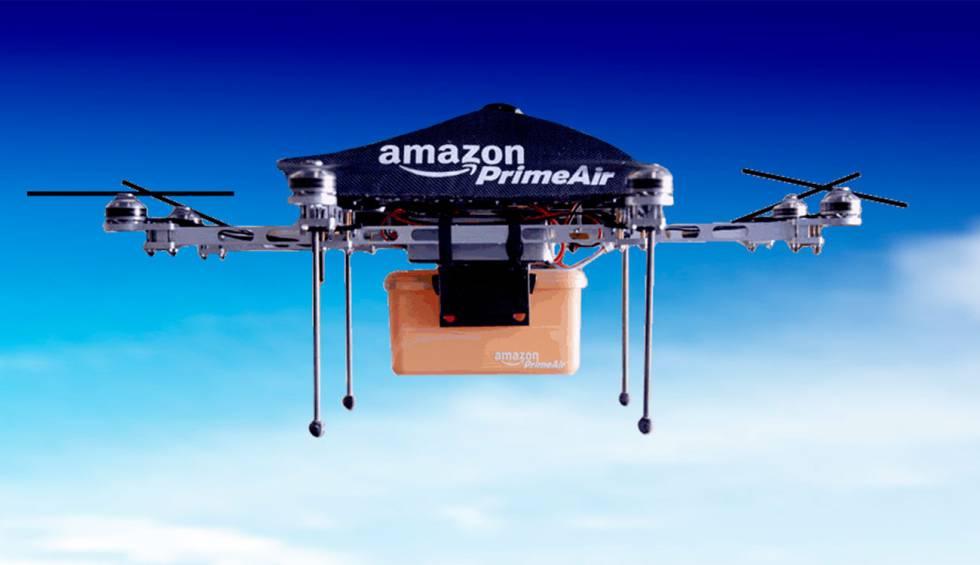 Amazon patentó sistema de autodestrucción de drones