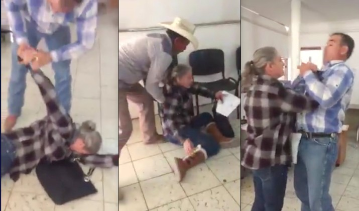 Resultado de imagen para juez de mexico agrede a una mujer